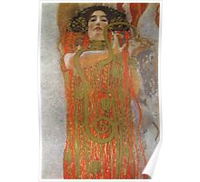 Gustav Klimt - Hygieia -Klimt -  Hygieia (Detail From Medicine) Poster