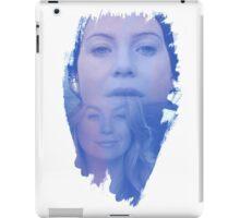 Meredith Grey -  brush effect iPad Case/Skin