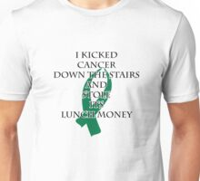 Cancer Bully (Green Ribbon)  Unisex T-Shirt