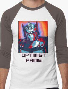 Optimist Prime! Men's Baseball ¾ T-Shirt