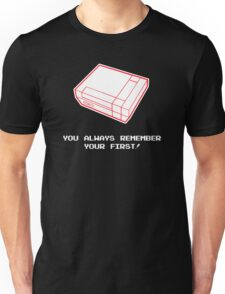 Always Remeber Your First Nintendo Gamer Unisex T-Shirt