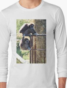 Monkeys animal print Long Sleeve T-Shirt