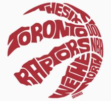 Toronto Raptors (Red) One Piece - Short Sleeve