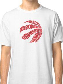 Toronto Raptors (Red) Classic T-Shirt
