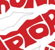 Toronto Raptors (Red) Sticker