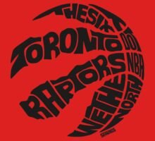 Toronto Raptors (Black) One Piece - Short Sleeve
