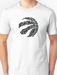 Toronto Raptors (Black) Unisex T-Shirt