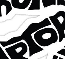 Toronto Raptors (Black) Sticker