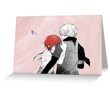 Zen & Shirayuki Greeting Card