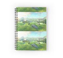high rule scenery  Spiral Notebook