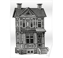 Doll house drawing Poster