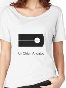 Un Chien Andalou alternative  movie poster Women's Relaxed Fit T-Shirt