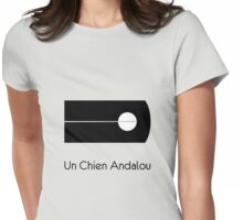 Un Chien Andalou alternative  movie poster Womens Fitted T-Shirt