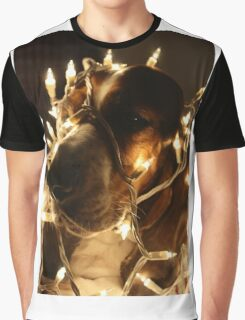 Christmas Cheer Basset Graphic T-Shirt