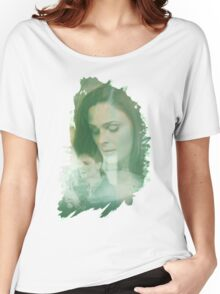 Temperance Brennan - brush effect Women's Relaxed Fit T-Shirt