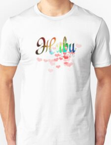 """Живи russian word """"live"""" with red hearts and cosmic glitter design T-Shirt"""