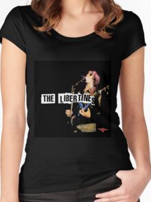 THE LIBERTINES Women's Fitted Scoop T-Shirt