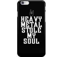 Heavy Metal Stole My Soul iPhone Case/Skin