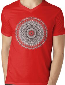 Intricate Designs Mens V-Neck T-Shirt