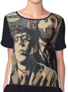 The Black Keys Chiffon Top
