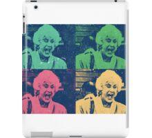 Bea Arthur Loses It iPad Case/Skin
