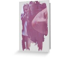 Kate Beckett - brush effect Greeting Card