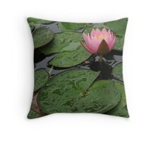 Among the Lily Pads© Throw Pillow