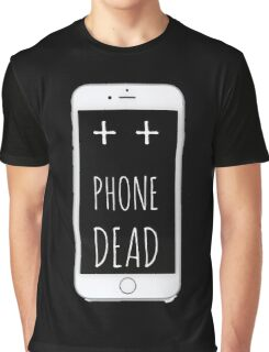 Dead Phone Graphic T-Shirt