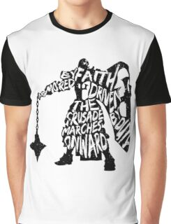 Armored by Faith, Driven by Duty Graphic T-Shirt
