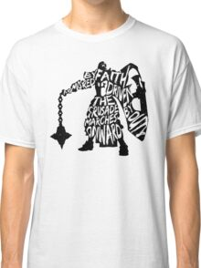 Armored by Faith, Driven by Duty Classic T-Shirt