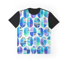 Oceanic Coffee Beans Graphic T-Shirt