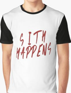 Sith Happens Graphic T-Shirt