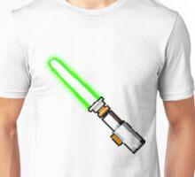 8bit lightsaber Unisex T-Shirt