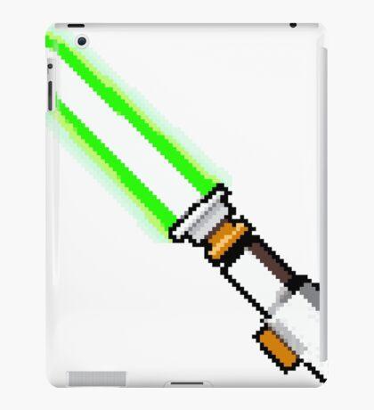 8bit lightsaber iPad Case/Skin