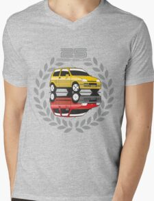 Fiat Cinquecento 25 years Mens V-Neck T-Shirt