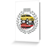 Fiat Cinquecento 25 years Greeting Card