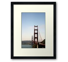 Iconic San Francisco Framed Print