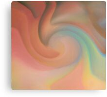 Pastel Swirls Canvas Print