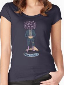 Sea Urchin Beach Boy Women's Fitted Scoop T-Shirt