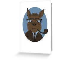Sartre  Greeting Card