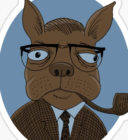 Sartre  Sticker