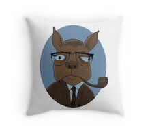 Sartre  Throw Pillow