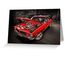 Chris Reece's Holden HQ SS Greeting Card