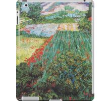Van Gogh - Field with Poppies iPad Case/Skin