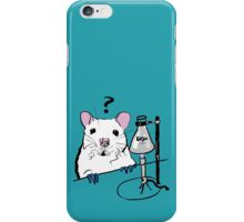 Chemistry Rat iPhone Case/Skin