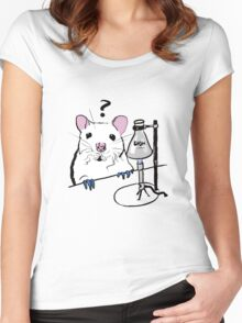 Chemistry Rat Women's Fitted Scoop T-Shirt