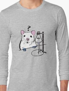 Chemistry Rat Long Sleeve T-Shirt