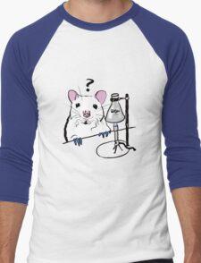 Chemistry Rat Men's Baseball ¾ T-Shirt