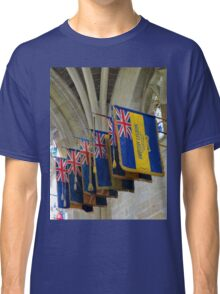 Colourful Flags, Exeter Cathedral, Devon Classic T-Shirt