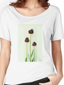 Parrot Tulips Women's Relaxed Fit T-Shirt